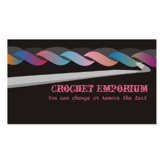 crochet crafting fashion toys business card, Cr...
