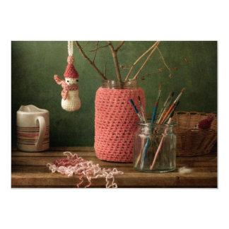 Crochet for Christmas Card