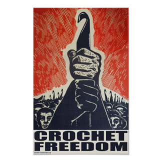 Crochet Freedom - poster