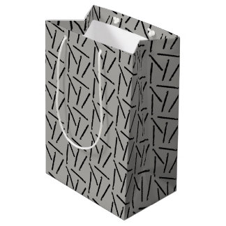 Crochet Hooks Crafts Pattern Medium Gift Bag