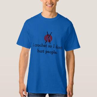 Crochet Hurt T-Shirt
