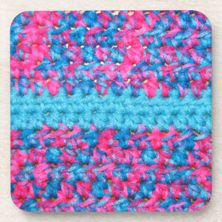 Crochet look coasters