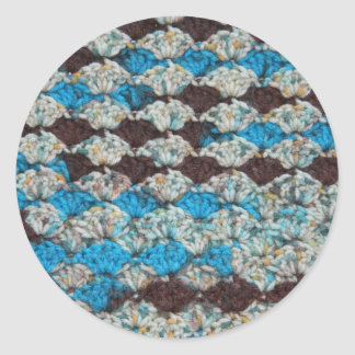 Crochet Mix 3 Round Sticker
