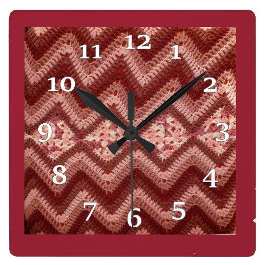Crochet Pattern Clock