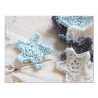 Crochet Stars Photograph