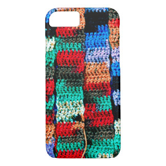 Crochet-Style Abstract on iPhone 7 Case