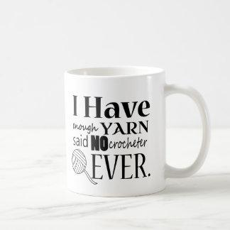 Crochet • Yarn Hoarder • Crafts Coffee Mug