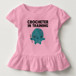 Crocheter in Training Toddler Shirt