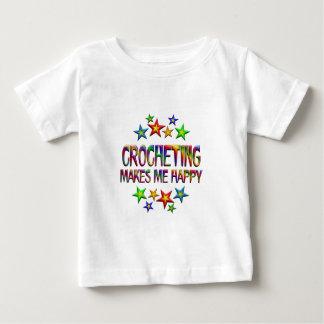 Crocheting Happy Baby T-Shirt
