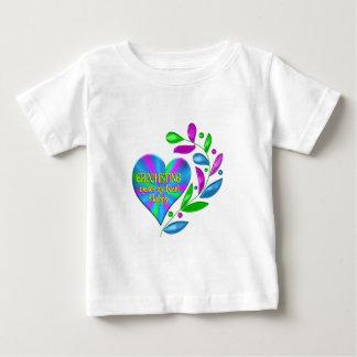 Crocheting Happy Heart Baby T-Shirt