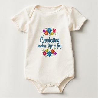 Crocheting Joy Baby Bodysuit