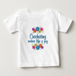 Crocheting Joy Baby T-Shirt