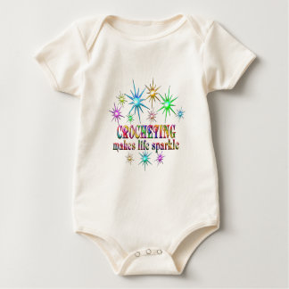 Crocheting Sparkles Baby Bodysuit