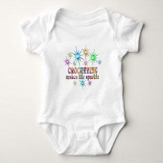 Crocheting Sparkles Baby Bodysuit