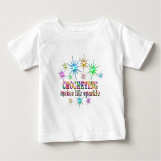 Crocheting Sparkles Baby T-Shirt