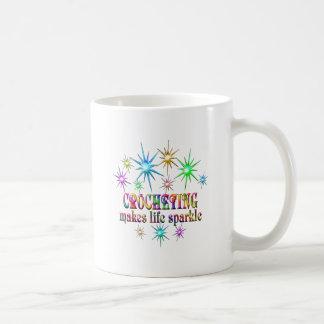Crocheting Sparkles Coffee Mug
