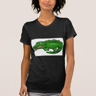 Crocodile Alligator Animal Cartoon Character T-Shirt