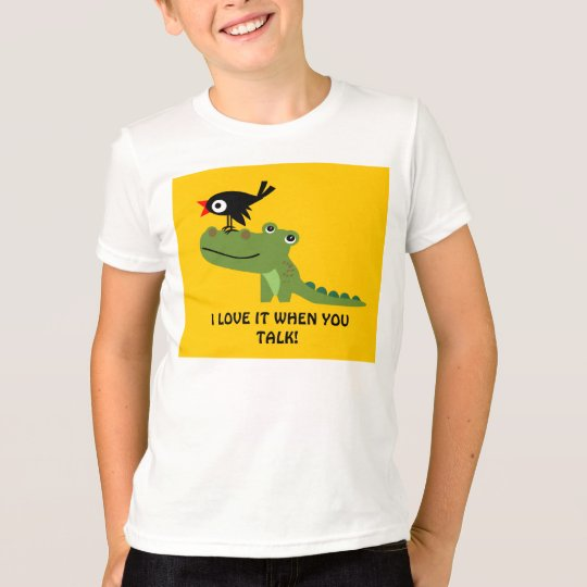 Crocodile and Crow Kids Shirt