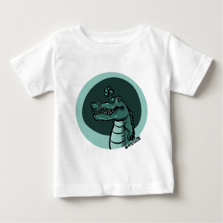 crocodile blue baby T-Shirt