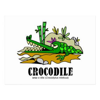 Crocodile by Lorenzo © 2018 Lorenzo Traverso Postcard