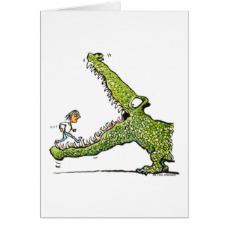 crocodile card