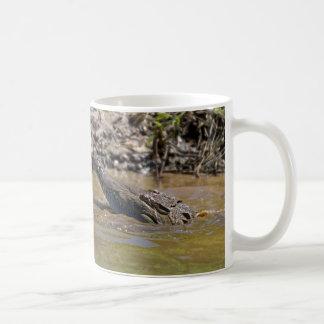 Crocodile coffee mug