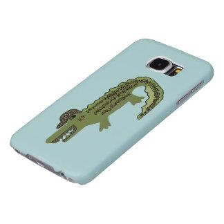 Crocodile Cool Samsung Galaxy S6 Cases