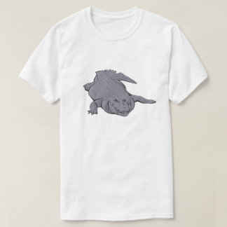 Crocodile Illustration Shirt