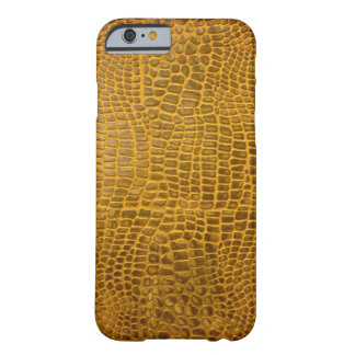 Crocodile Leather Barely There iPhone 6 Case