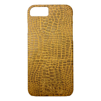 Crocodile Leather iPhone 7 Case