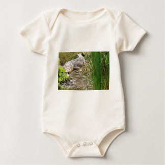 CROCODILE QUEENSLAND AUSTRALIA BABY BODYSUIT