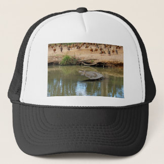 CROCODILE QUEENSLAND AUSTRALIA TRUCKER HAT