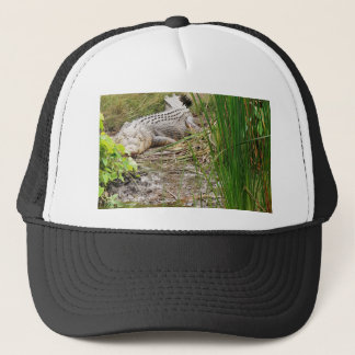 CROCODILE QUEENSLAND AUSTRALIA TRUCKER HAT