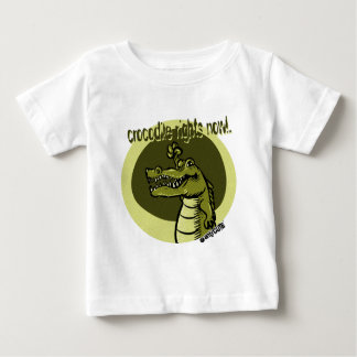 crocodile rights now green baby T-Shirt