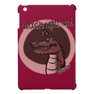 crocodile rights now red cover for the iPad mini