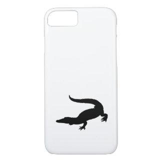 Crocodile Silhouette iPhone 7 Case
