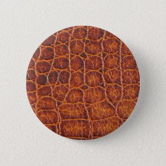 Crocodile Skin Button