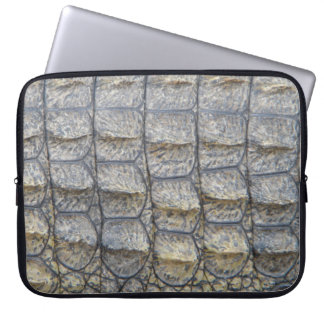 Crocodile Skin Laptop Sleeve