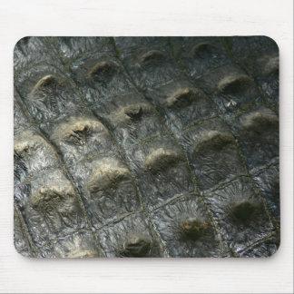 Crocodile Skin Mouse Pad