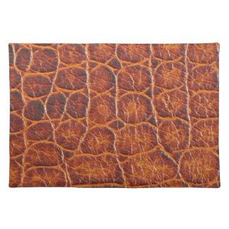 Crocodile Skin Print Placemat