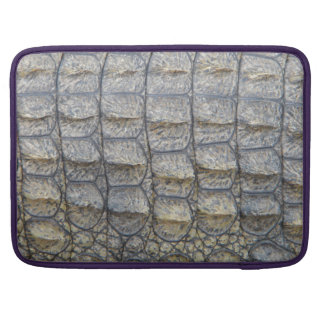 Crocodile Skin Sleeve For MacBooks