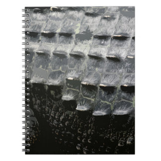 CROCODILE SKIN SPIRAL NOTEBOOKS