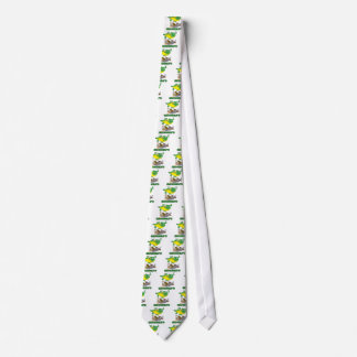 crocodile stomping on hunter cartoon tie
