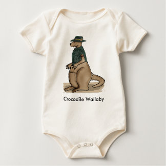 Crocodile Wallaby Baby Shirt
