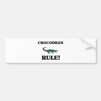 CROCODILES Rule! Bumper Sticker