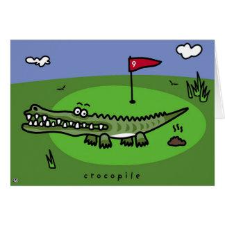 crocopile card