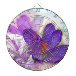 Crocus and Lily of the Valley Floral Arrangement . Dart Board
