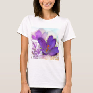 Crocus and Lily of the Valley Floral Arrangement . T-Shirt