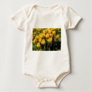 crocus baby bodysuit