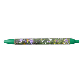 Crocus Multicolor Spring Flowers Green Pen